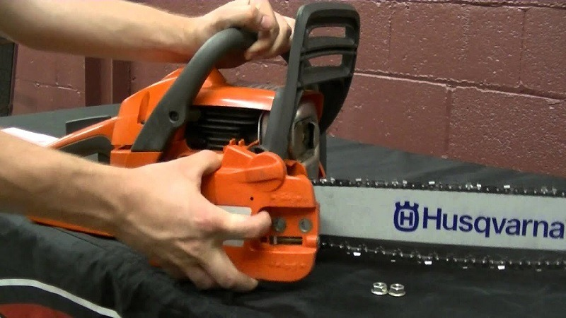 How to Replace a Chain on a Chainsaw