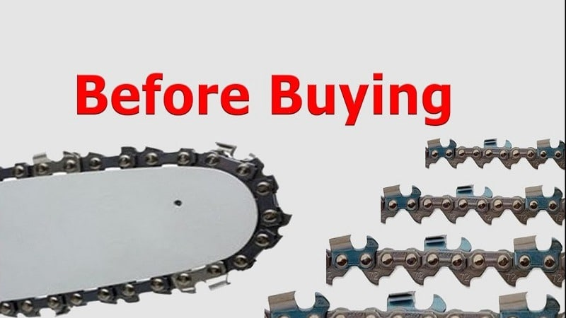 How To Buy The Proper Chain For A Chainsaw
