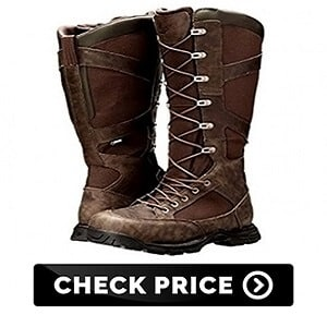 Men's Side-Zip Hunting Boot