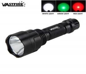 Best Green Light Flashlight Set
