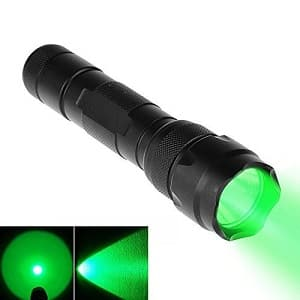 Best green LED tactical flashlight