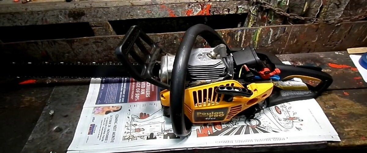 ow To Clean Your Chainsaw