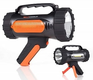 Rugged Camp Rechargeable Spotlight Titan X10-1000