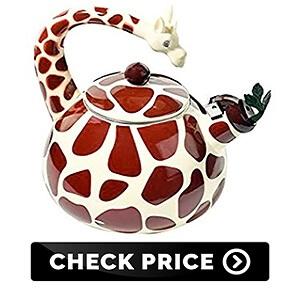 Iron Giraffe Tea Kettle