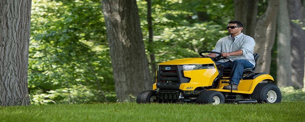 Right Garden Tractor
